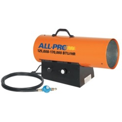 All Pro Portable Heaters Forced Air Convection